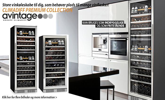 Vinkøleskabe fra vinkøleskabet.dk