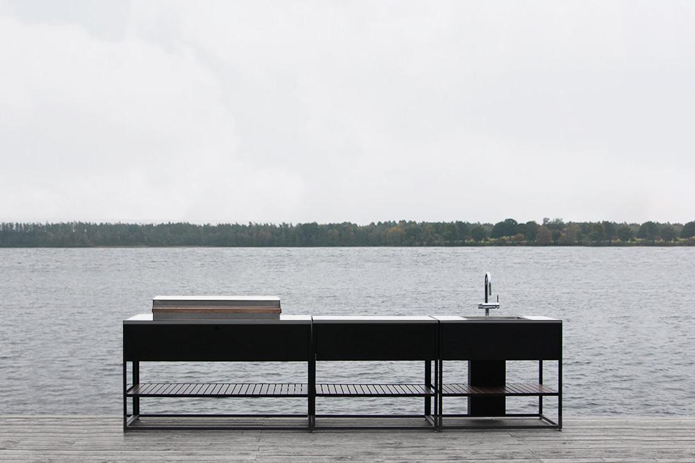 Skeldervik - Deckplatte in Edelstahl
