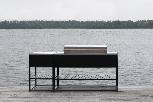 Skeldervik - Stainless steel counter top