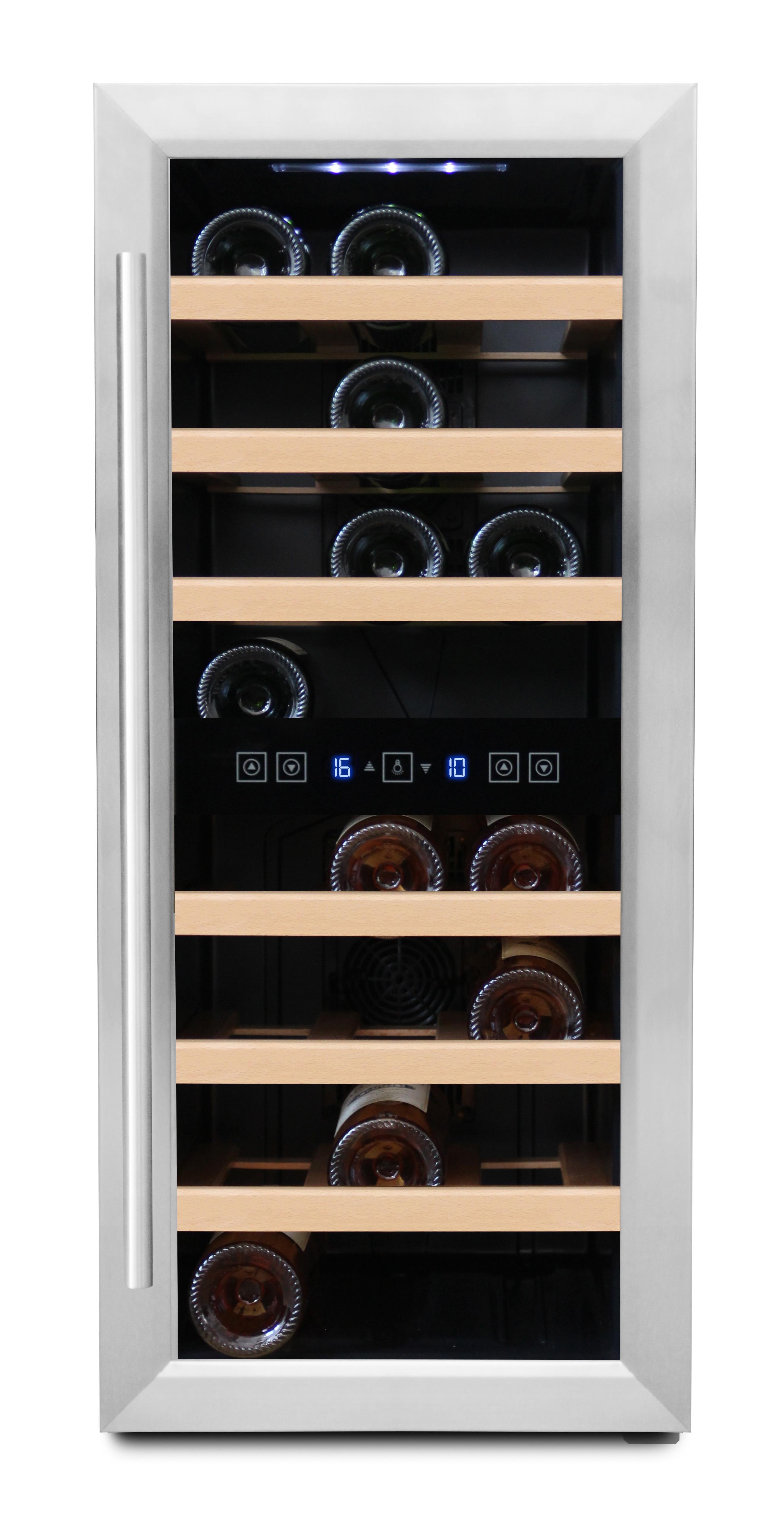 Fristående vinkyl - 24 flaskor