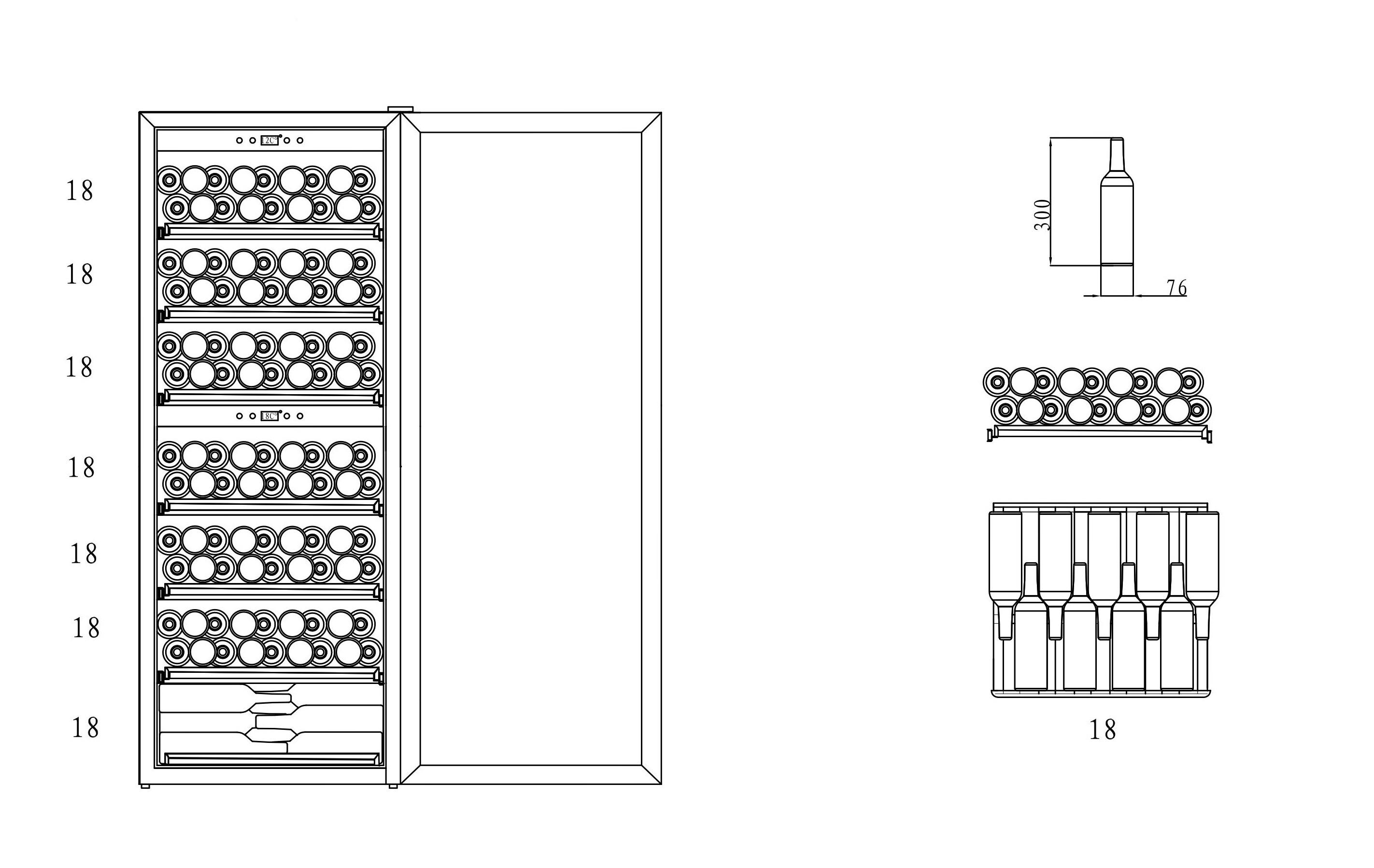 mQuvée  - WineExpert 126 Fullglass Black