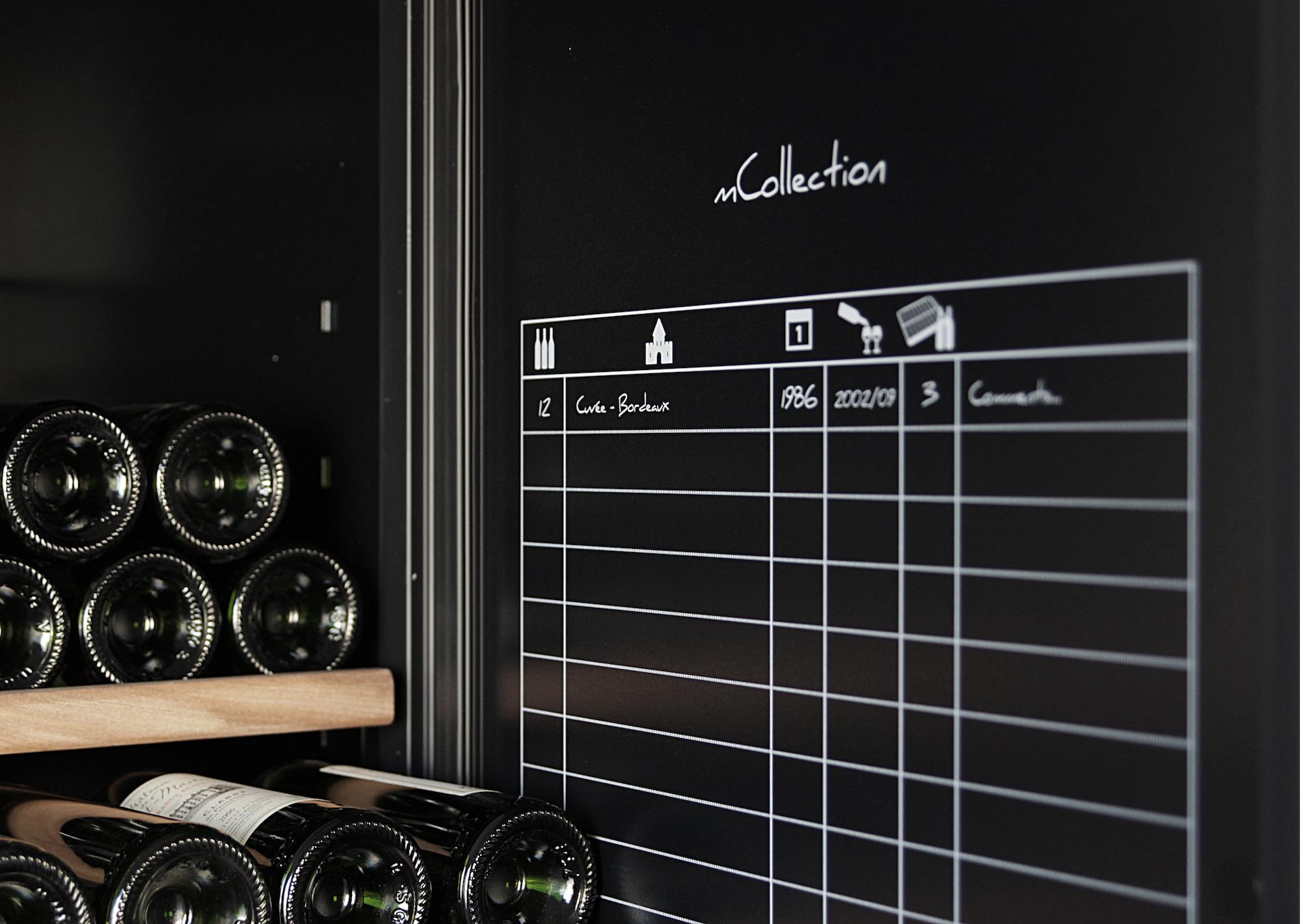 Detaljerat vinförvaringsark