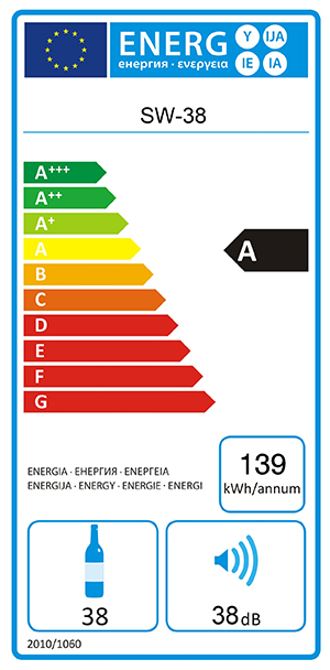 Energylael mQuvée WineExpert 38