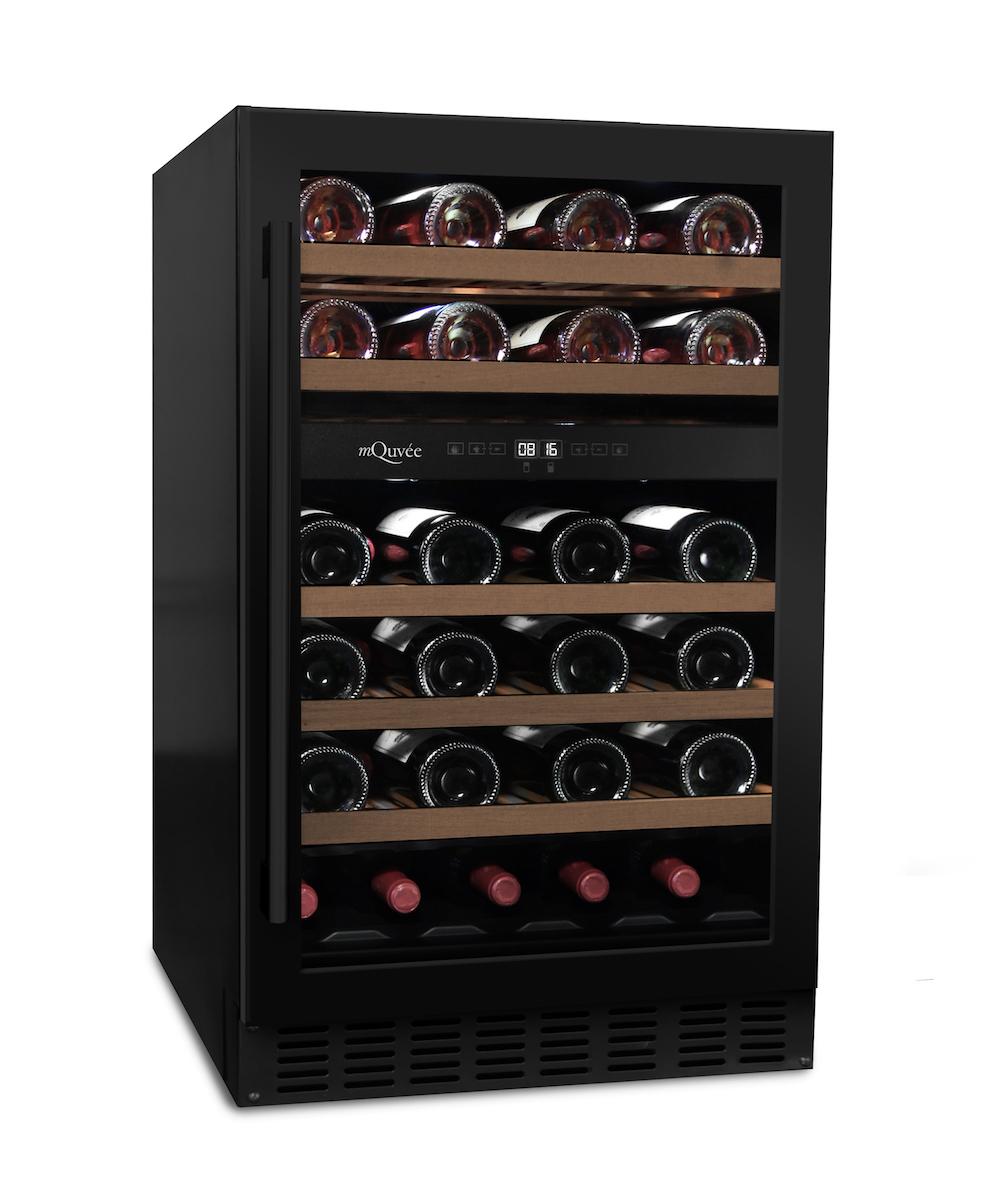 mQuvée WineCave 50D Antracite Black