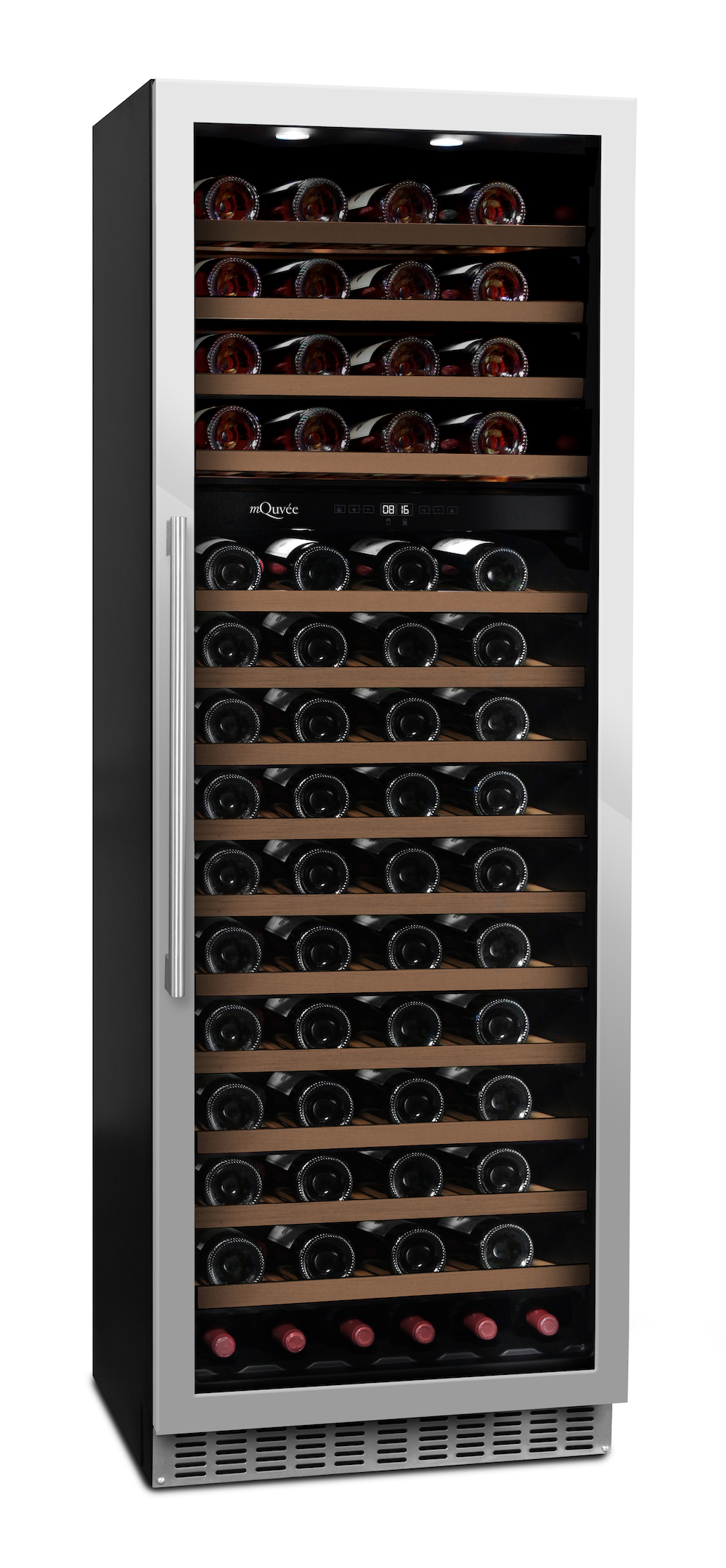 mQuvée - WineCave 187 Stainless