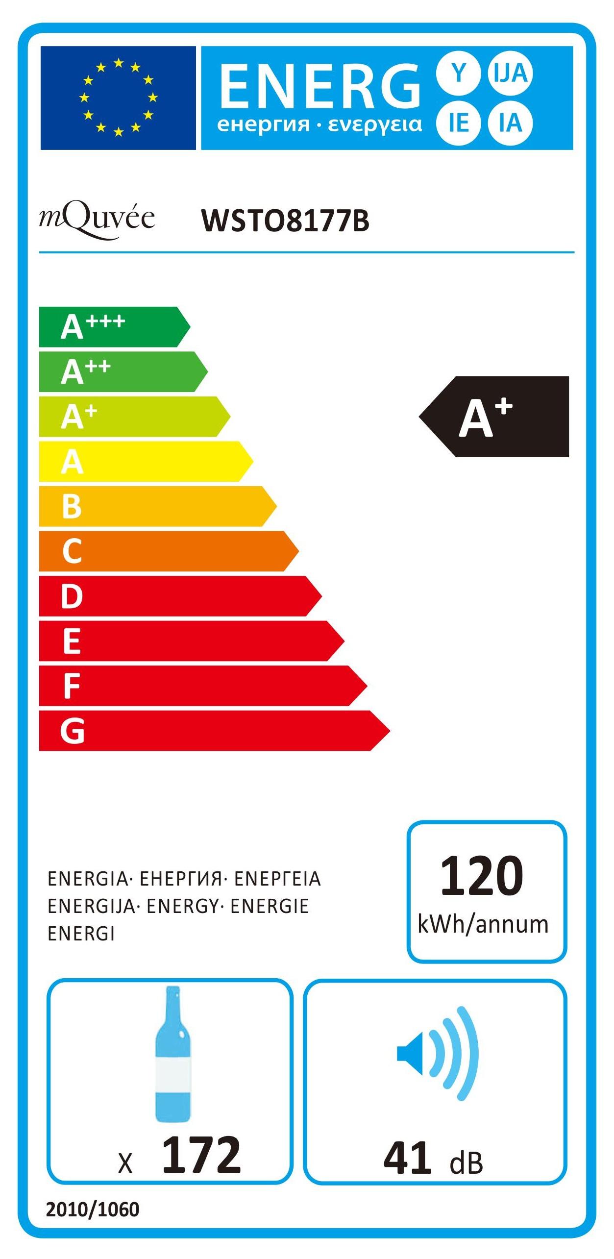 Energylabel mQuvée WineStore 177