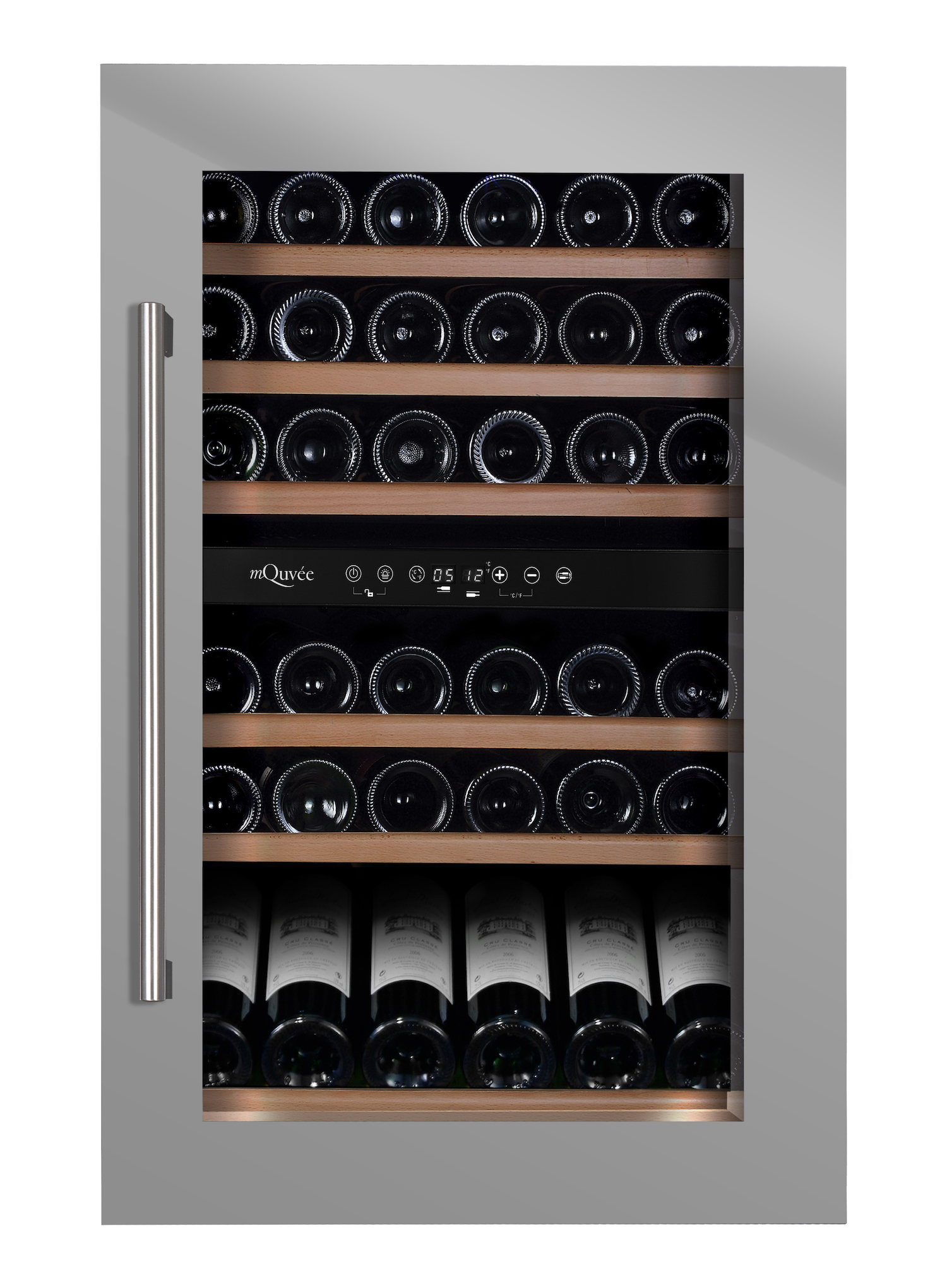 mQvée WineMaster 59D Stainless