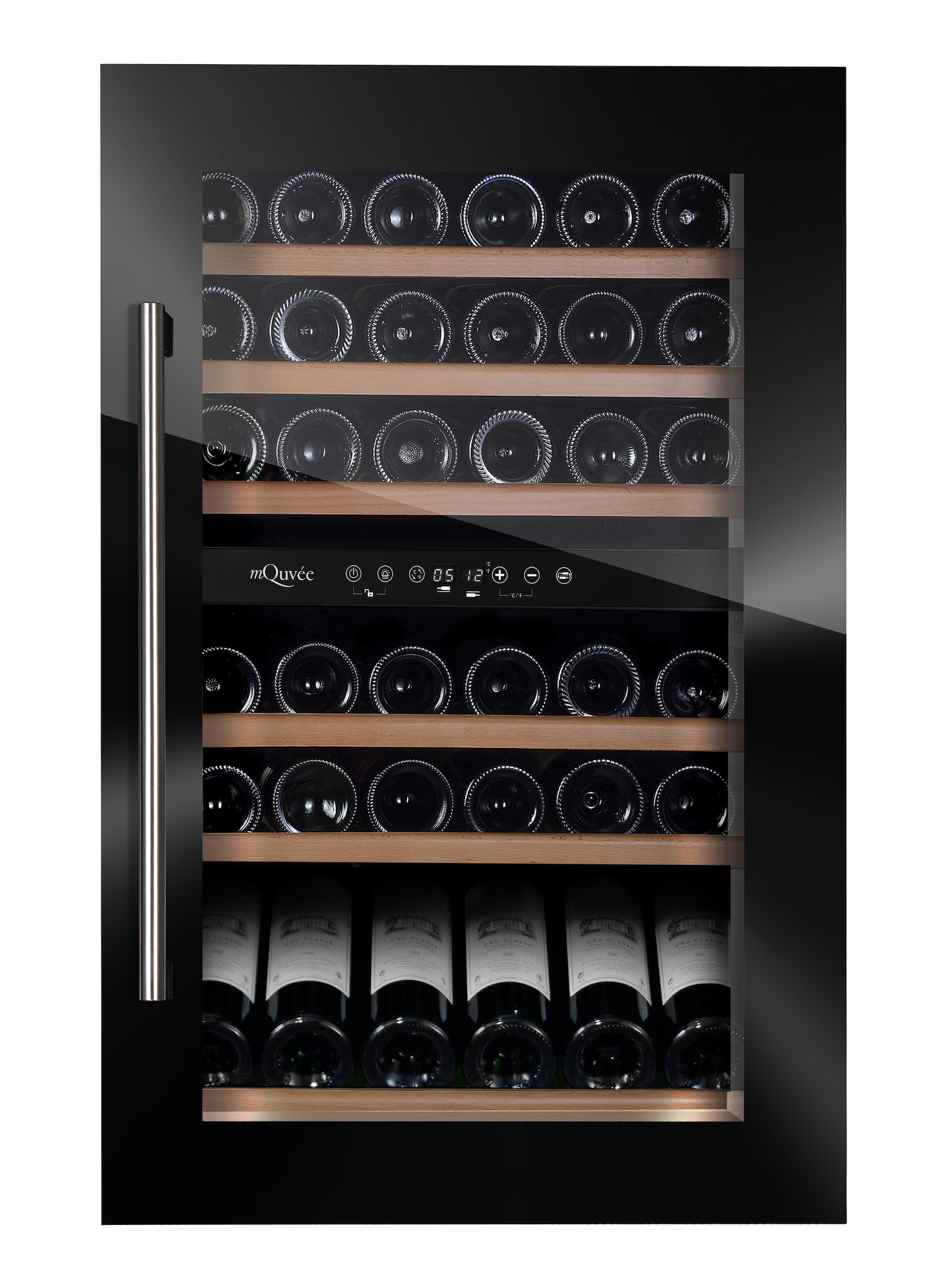 mQuvée WineMaster 59D Fullglass Black
