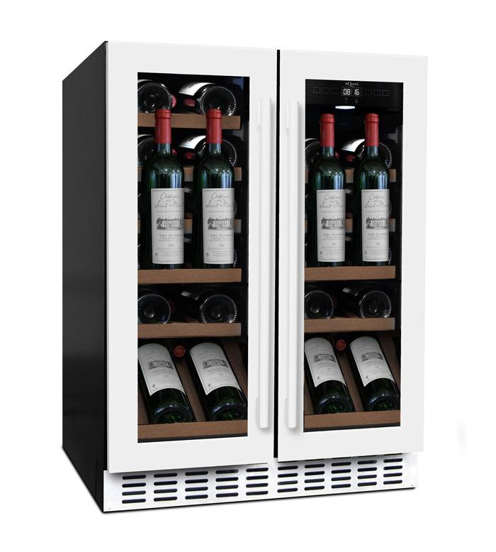 mQuvée - vit inbyggbar vinkyl från mQuvée som rymmer 31 flaskor