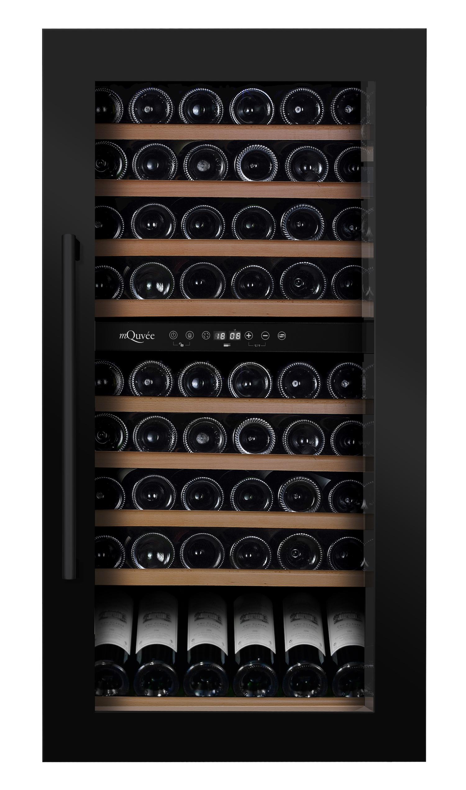mQuvée WineMaster 89D Antracite Black