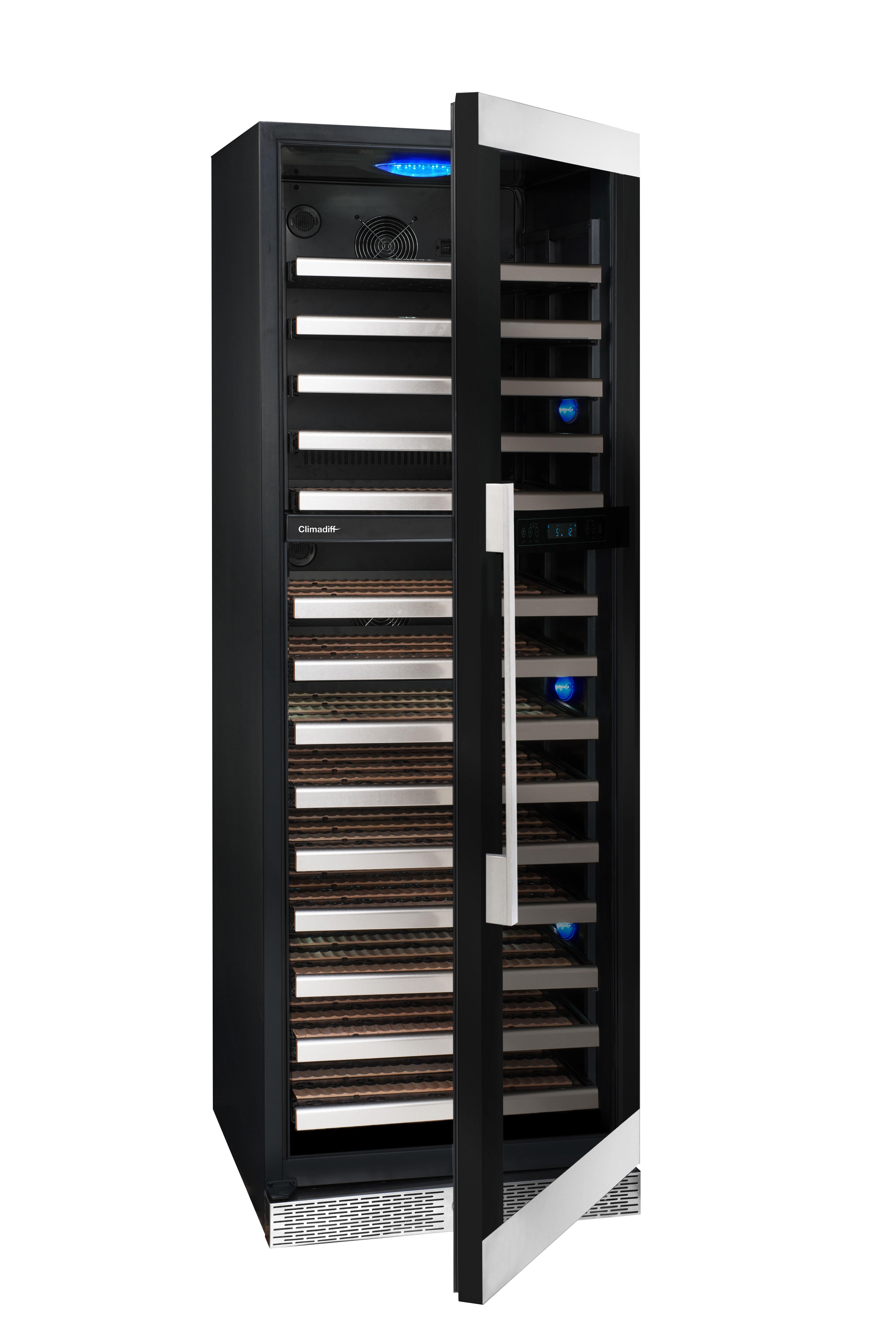 Stor rostfri vinkyl från Avintage - invändig design