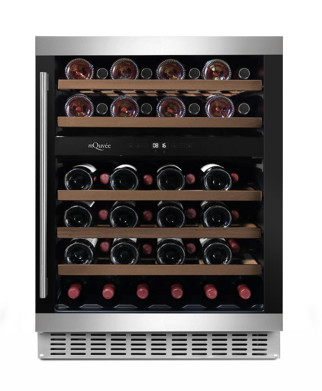 Inbyggbar vinkyl från mQuvee i modern finish