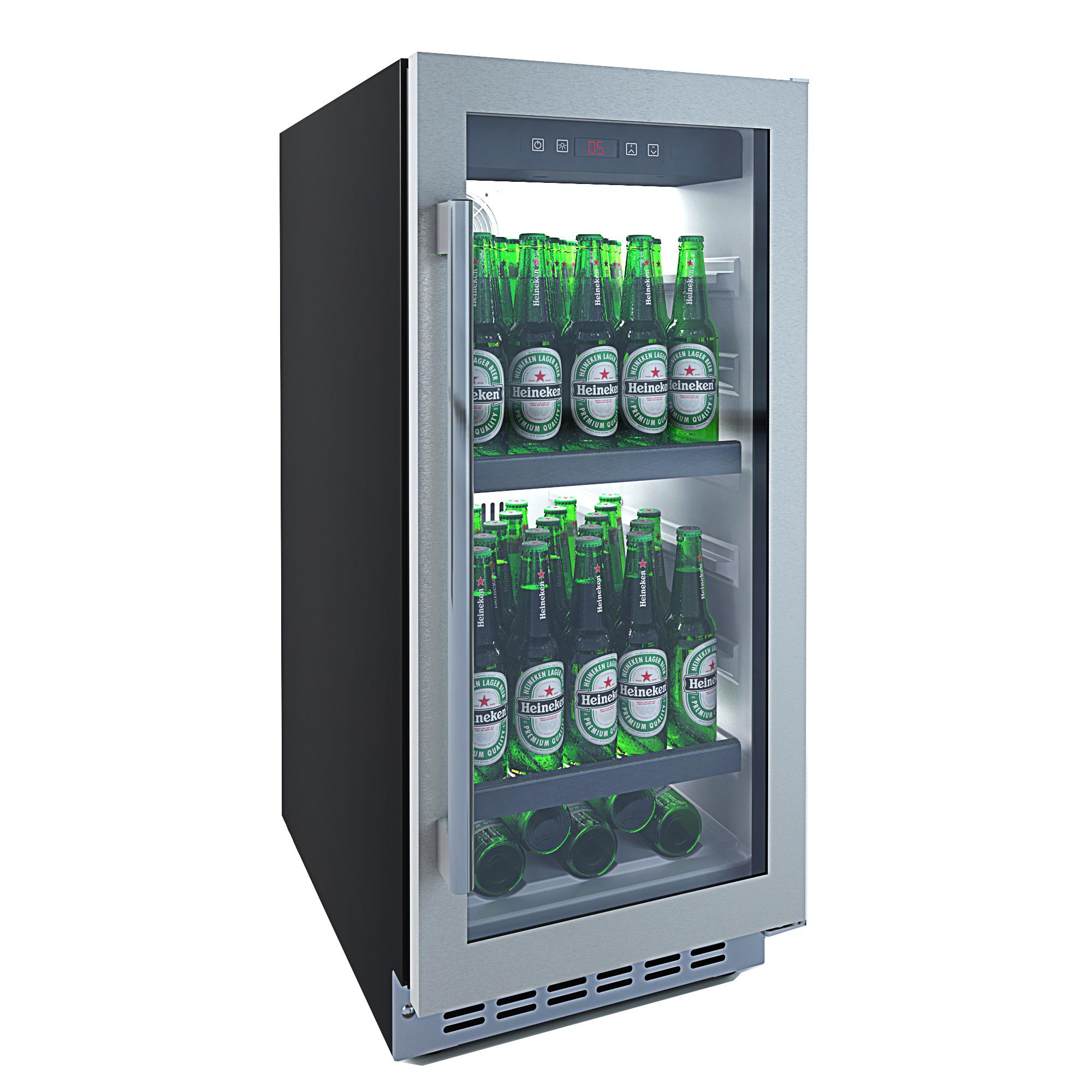 Einbau Bierkühlschrank In Edelstahl Subzero Beer Froster 40 Cm B