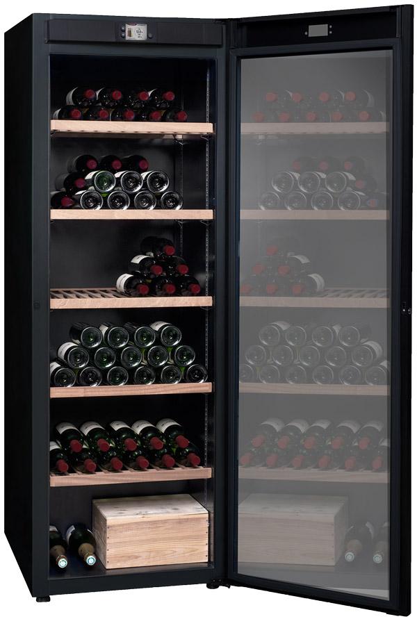Multitemperatursskåp med plats för 264 flaskor