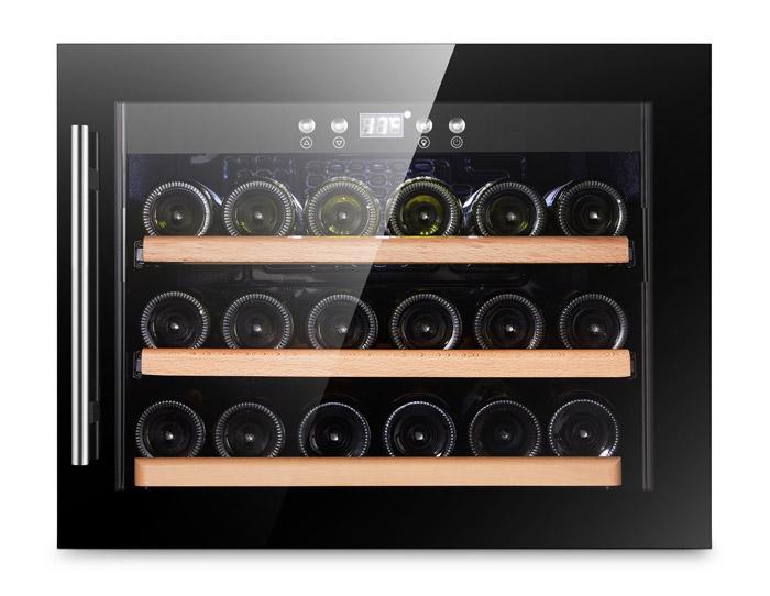 Svart integrerbar vinkyl från Cavin