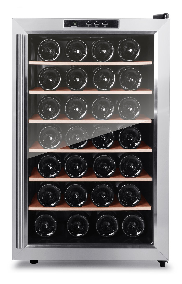 Cavin - fristående vinkyl rostfri design