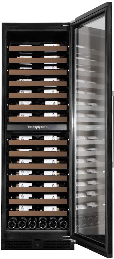 Inbyggbar vinkyl från mQuvée med synliga etiketter
