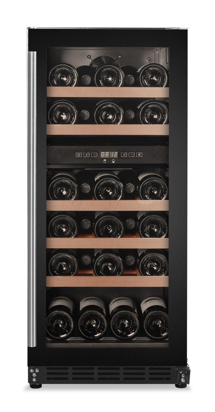 Inbyggbar svart vinkyl från Cavin