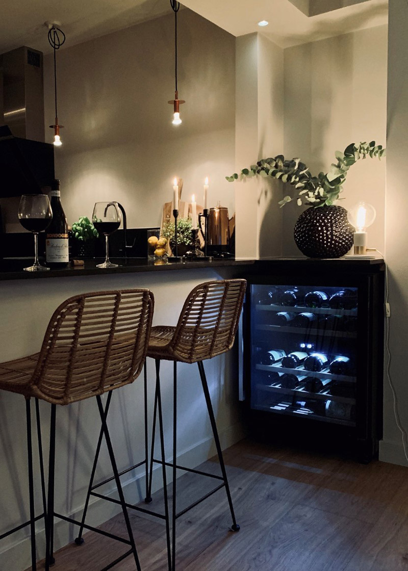 Premium vinkyl från Avintage med belysning