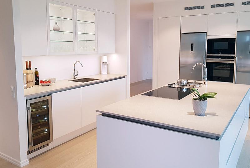 mQuvee vinkyl i skandinaviskt kök